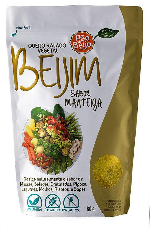 Queijo ralado vegetal Beijim sabor manteiga - 80g