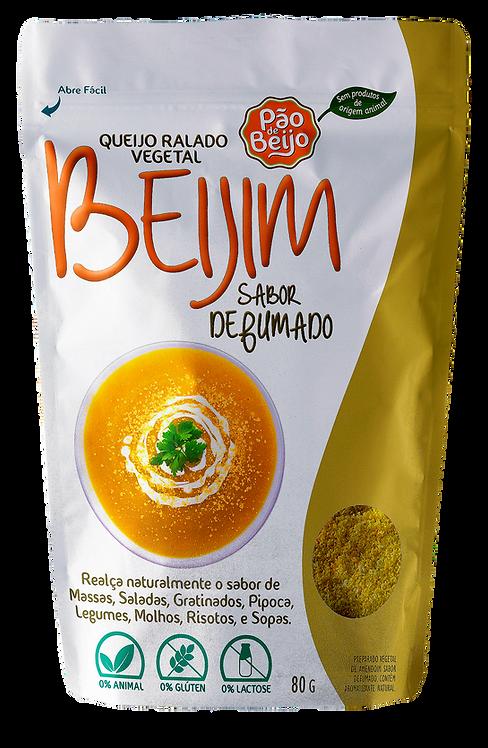 Queijo ralado vegetal Beijim sabor defumado - 80g