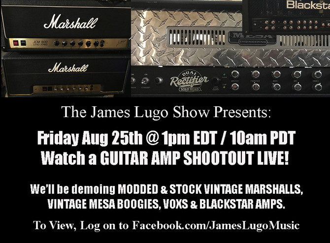 This Week's Guitar Amp Shootout.