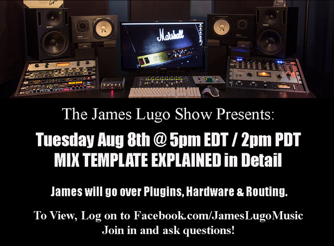 Today's Show on Mix Template!