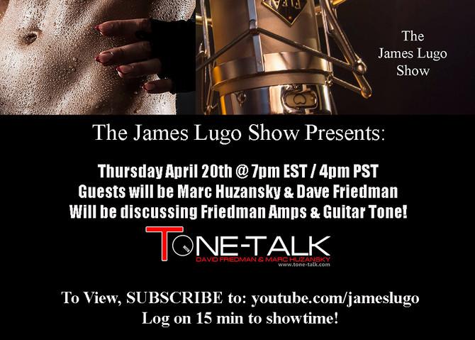 The James Lugo Show Begins!