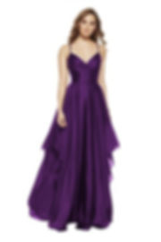 1514 Polly Rose Boutique Paisley Prom Shop Purple Prom Dress