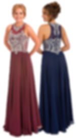 Bling Sparkle Beaded Prom Dress Boutique Glasgow