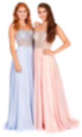 Beaded Bling Floaty Prom Dress Polly Rose