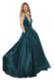 1522 Alyce Paris Peacock Prom Dress Shimmer Princess