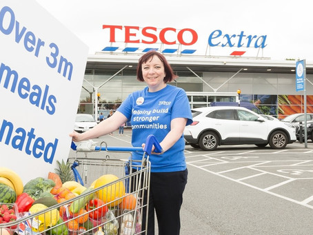 TESCO CUSTOMERS HELP PROVIDE MORE THAN 3 MILLION MEALS THROUGH BUY ONE TO HELP A CHILD CAMPAIGN