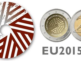 Jauna 2 eiro monēta veltīta Latvijas prezidentūrai ES padomē
