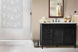 JG Natural Stone LLC. offers a free bathroom Visualizer.