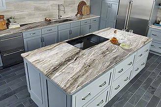 JG Natural Stone LLC. offers a free kitchen Visualizer.