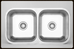 50/50 Stainless Steel Sink