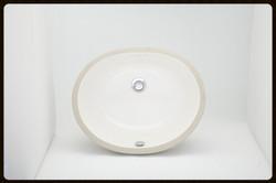 Oval Bisque Porcelain sink