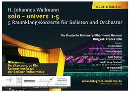 Johannes Wallmann, silvia careddu, flute, solo univers