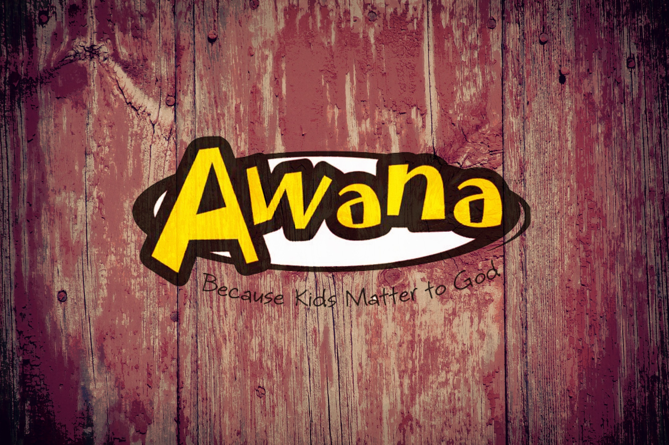 Join us for AWANA Wednesday nights!