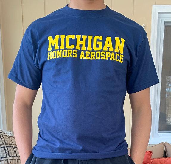 Michigan Honors Aerospace T-Shirt