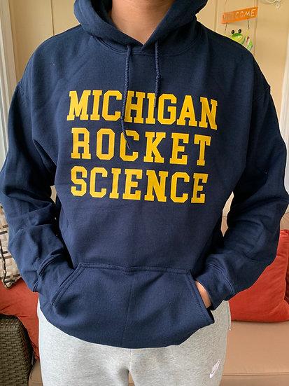 Michigan Rocket Science Hoodie