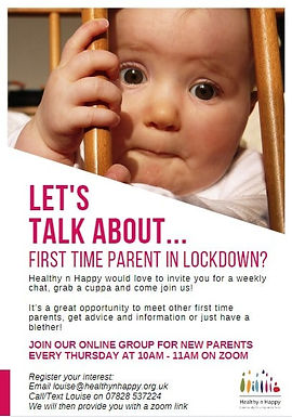 Let's Talk About... New Parent in Lockdown