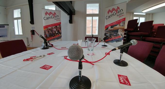CamGlen Radio Political Hustings Live Stream