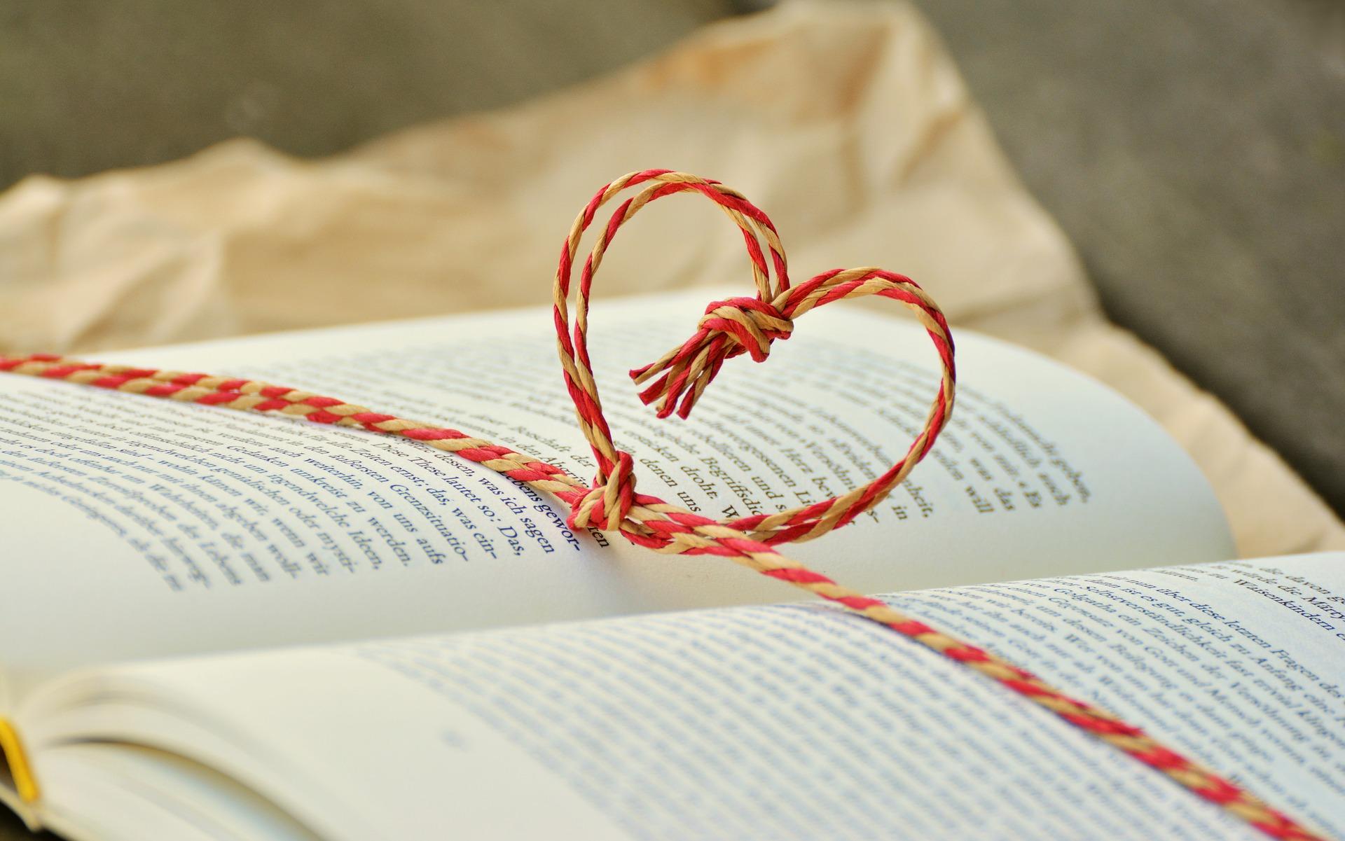 book club heart