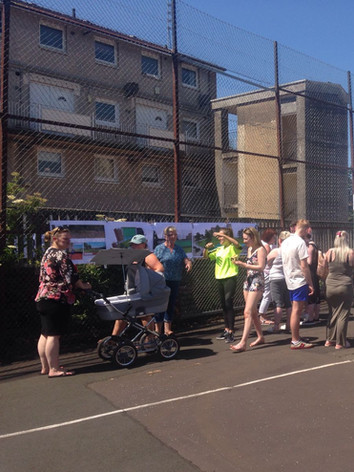 Celebrating the cage redevelopment plans