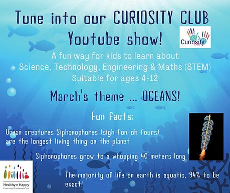 Curiosity Club Youtube Show