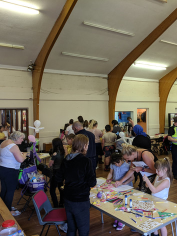 Community event at Springhall