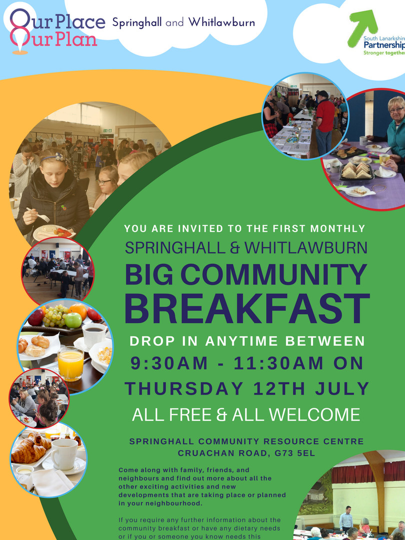 Community Breakfast July 2018