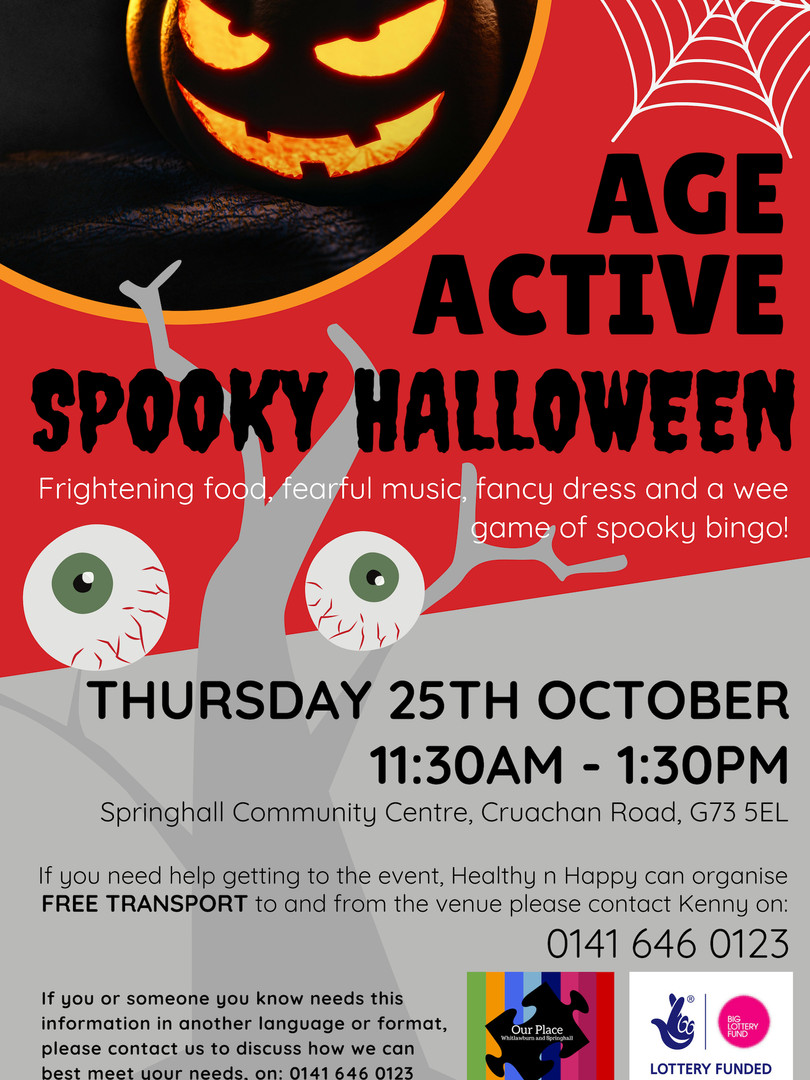 Age Active Halloween October 2018