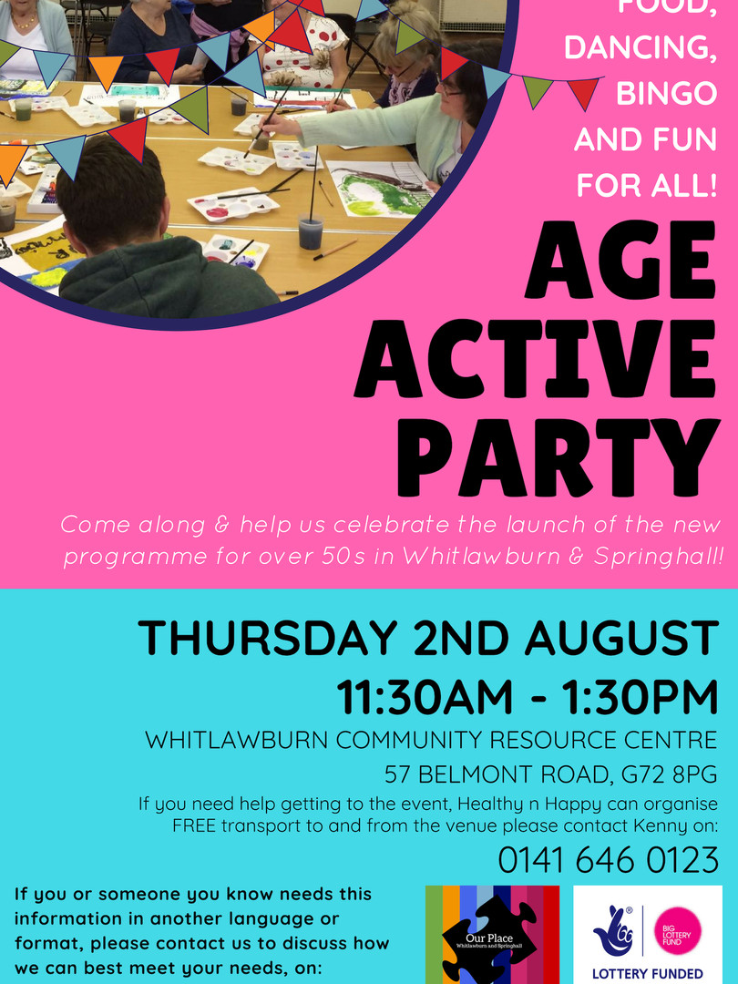 Age Active Party August 2018