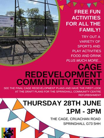 Cage Redevelopment Celebration June 2018