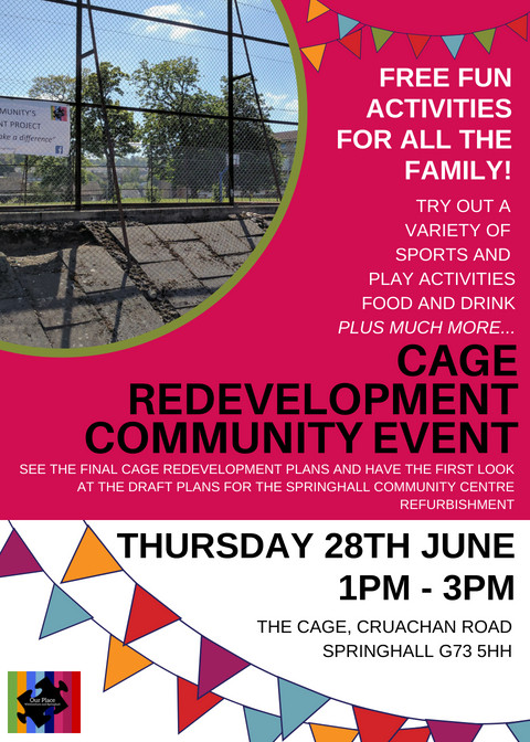 Cage Redevelopment Celebration June 2018