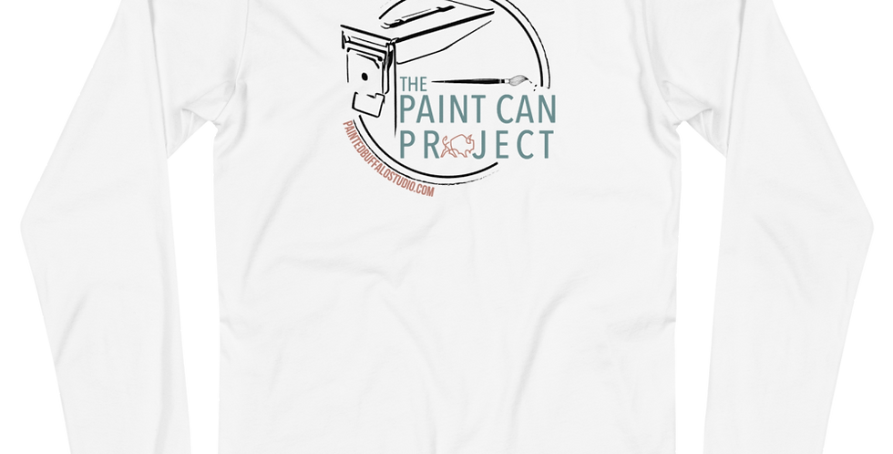 Paint Can Project Long Sleeve Tee