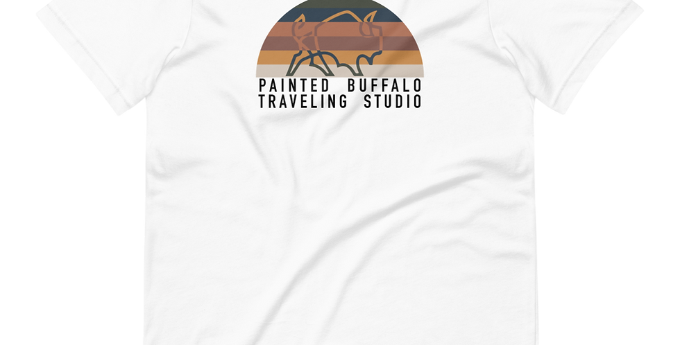 Sunset Buffalo Unisex T-Shirt