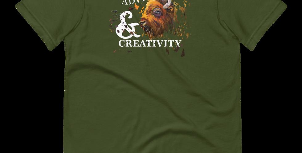 Adventure and Creativity (White Logo)