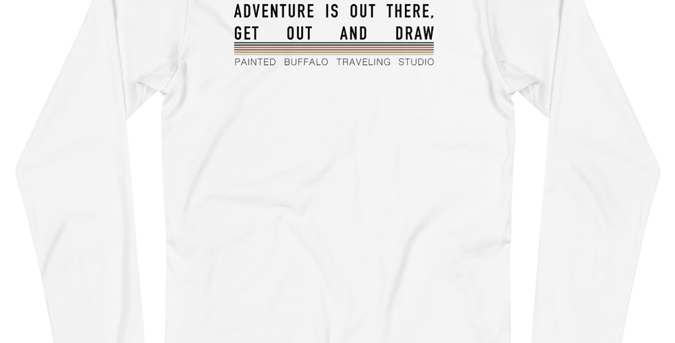 adventure is out there long Sleeve Tee