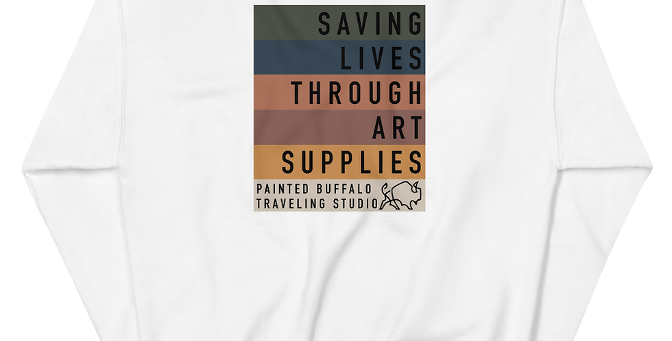 saving lives Sweatshirt