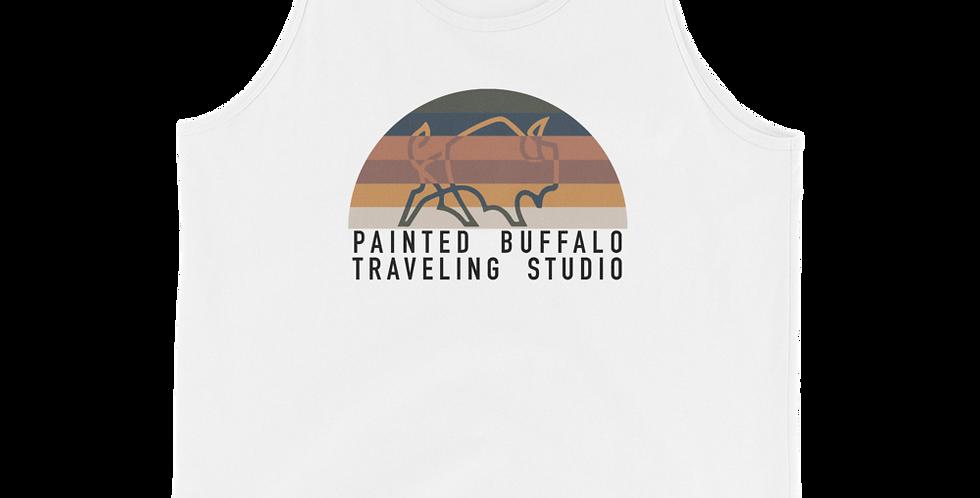 sunset buffalo Tank Top