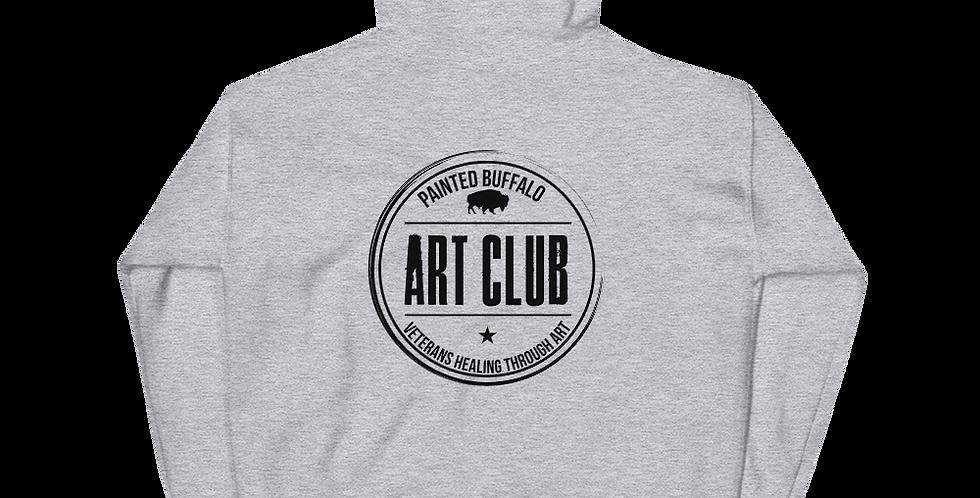Art Club Hoodie (Black Logo)