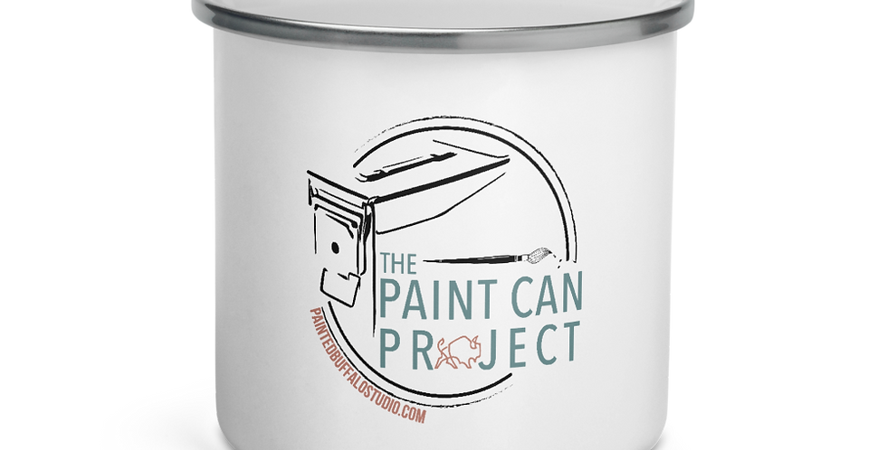 Paint Can Project Enamel Mug