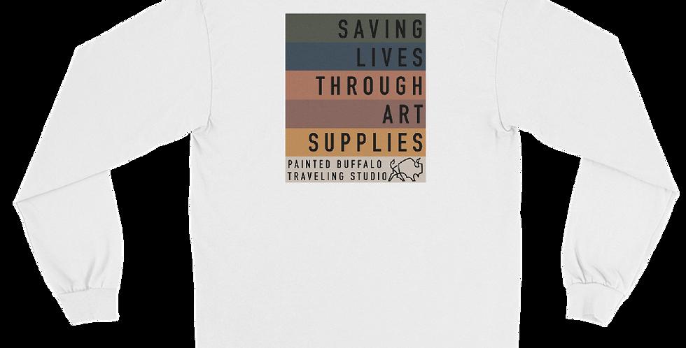 saving lives Long Sleeve Shirt