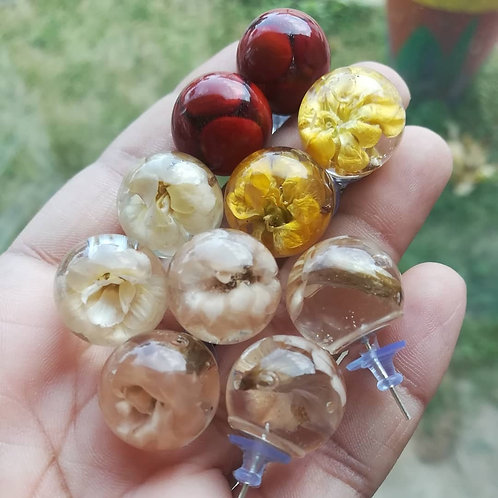 Botanical Earrings Studs & Drop