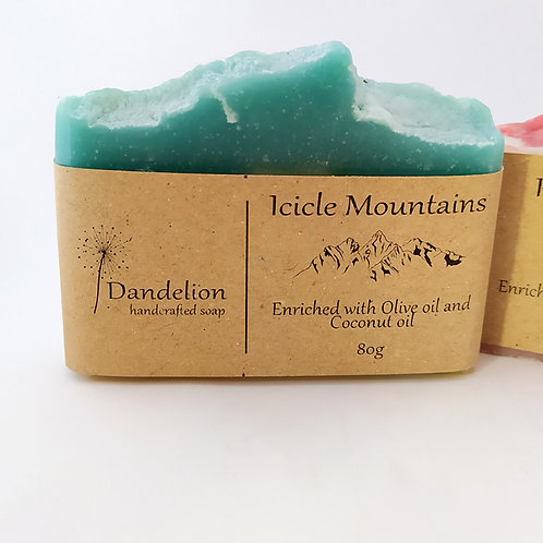 Icicle Mountain Soap