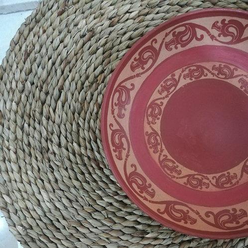 Dinner plate: liyawel