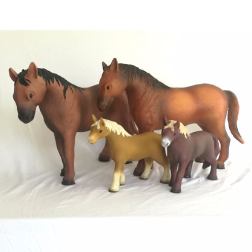 Farmyard Animal Rubber Toys