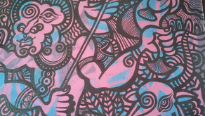 Sri Lankan Artist Makes Waves with Contemporary Traditional Art