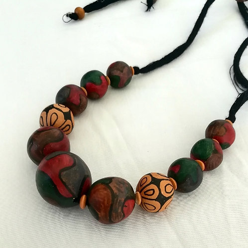 Natural Clay Necklaces