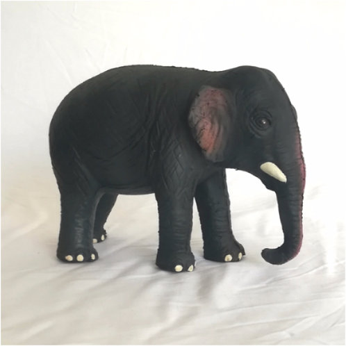 Rubber Sri Lankan Elephants