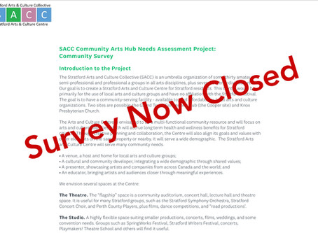 We want your input - participate in our community survey!
