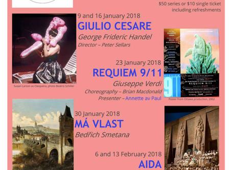 Music and Opera Appreciation Winter 2018 Series: Reality