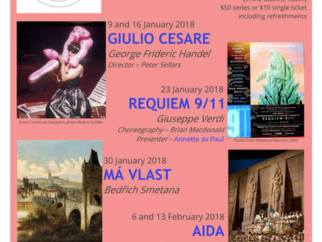 Music and Opera Appreciation Winter 2018 Series: Reality