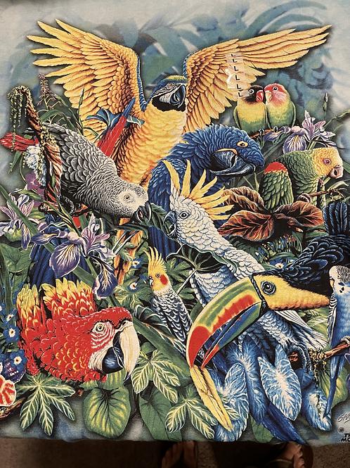 Men's L Parrots Tee